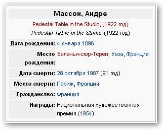 Андре Массон | XXe | Andre Masson (195 работ)