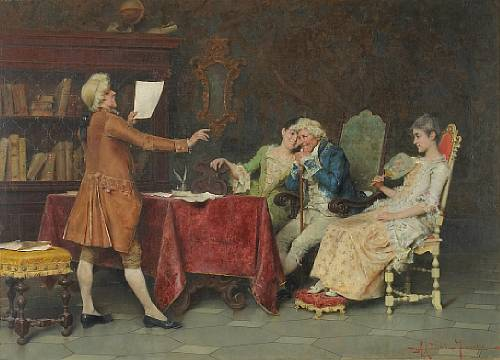 Итальянский художник Adriano Cecchi (1850-1936) (21 работ)