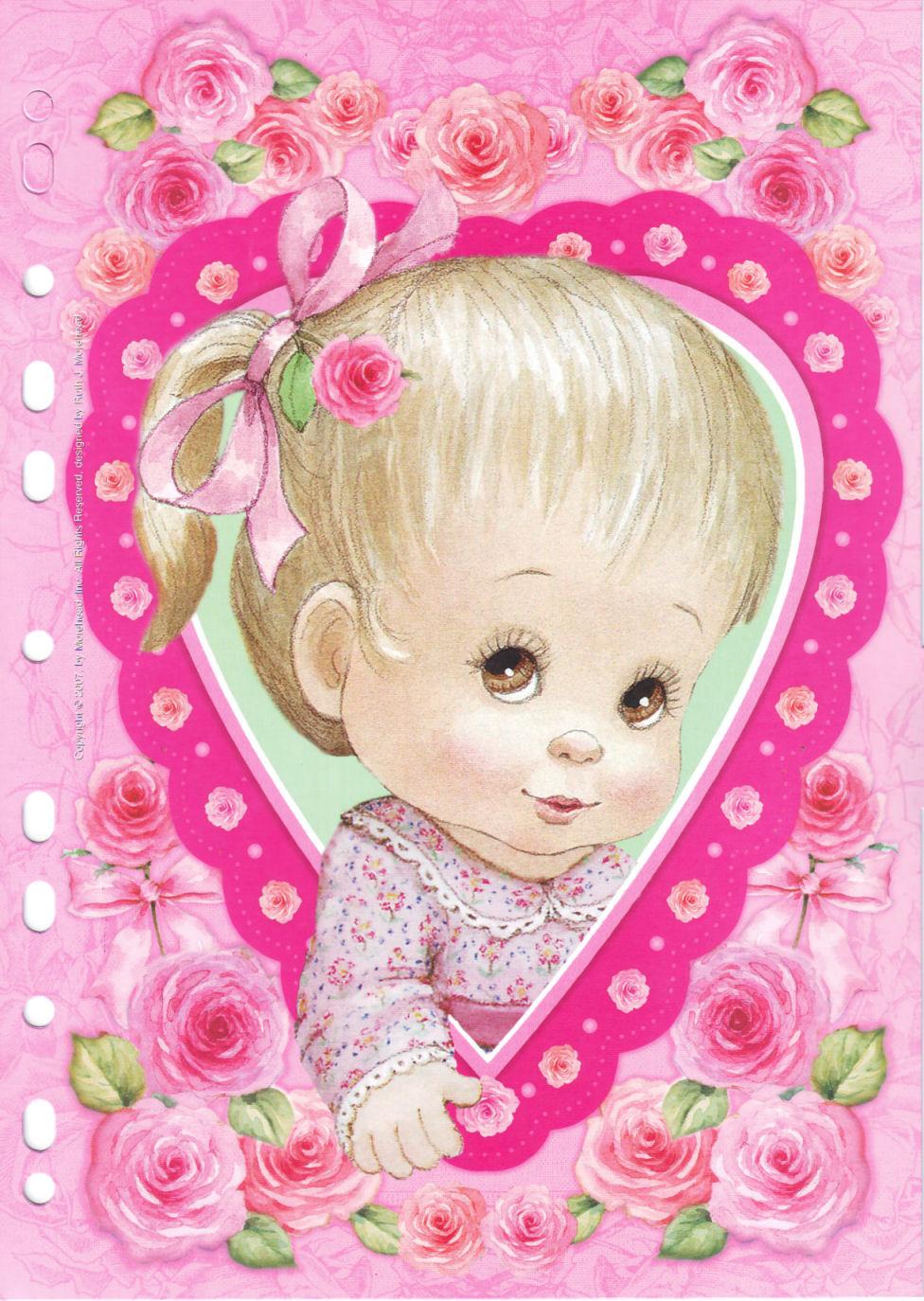 Изображение ребенка для открытки