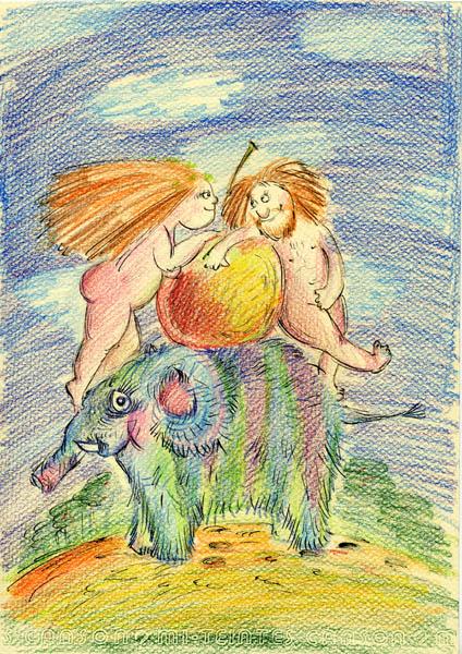Художница Сдобнова Юлия (150 работ)