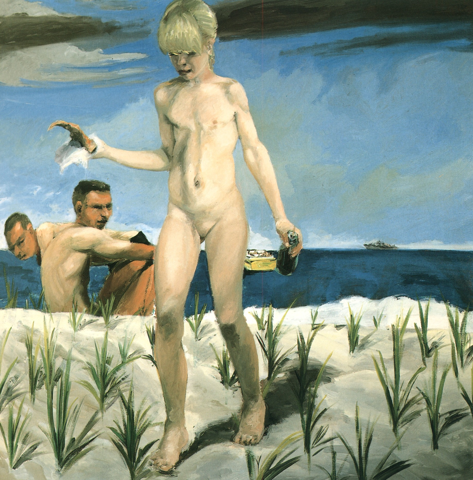 an analysis of the painting beata ludovica by eric fischl