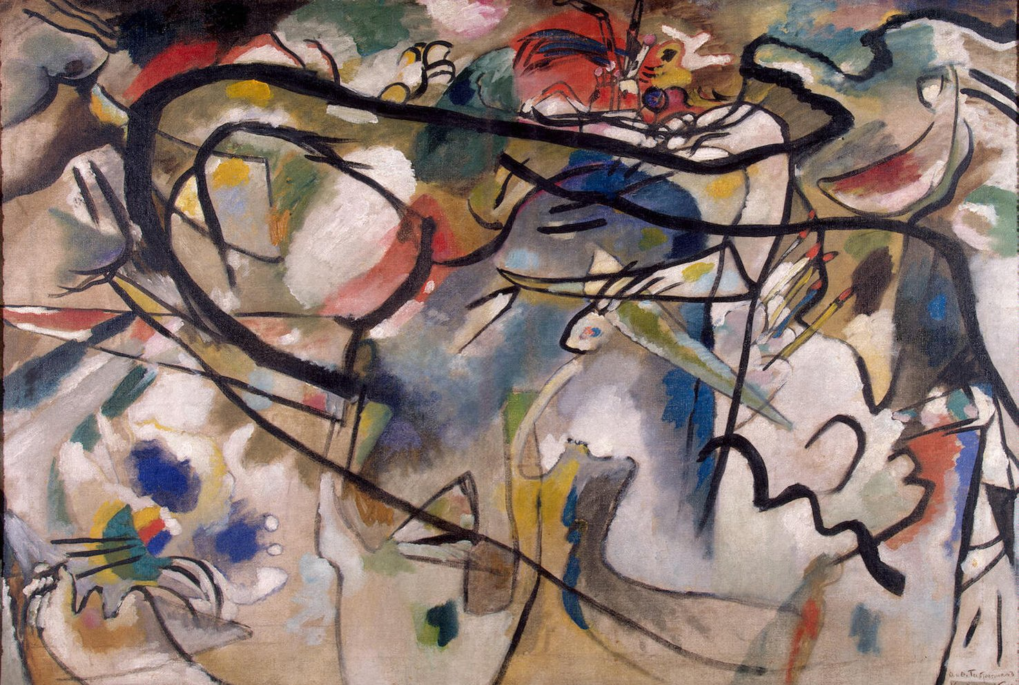 a biography of the life and painting works of wassily kandinsky Wassily wassilyevich kandinsky  he started painting studies (life-drawing,  biography and works of wassily kandinsky.