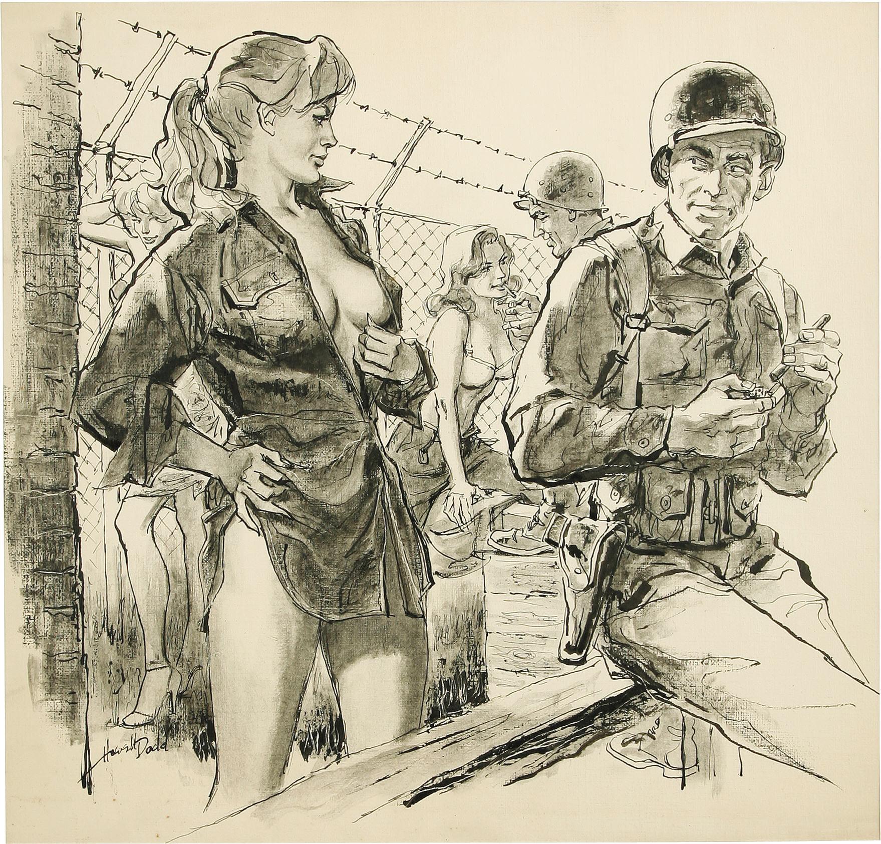 Рисованная американская эротика 9 фотография