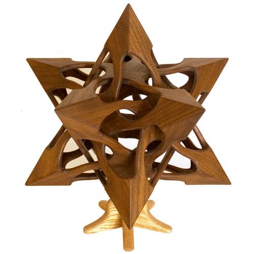 Геометрические скульптуры. Vladimir Bulatov (USA) (152 работ)