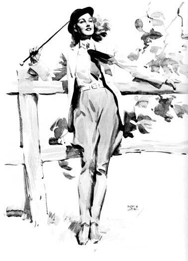 Американский художник и иллюстратор Andrew Loomis (102 работ)