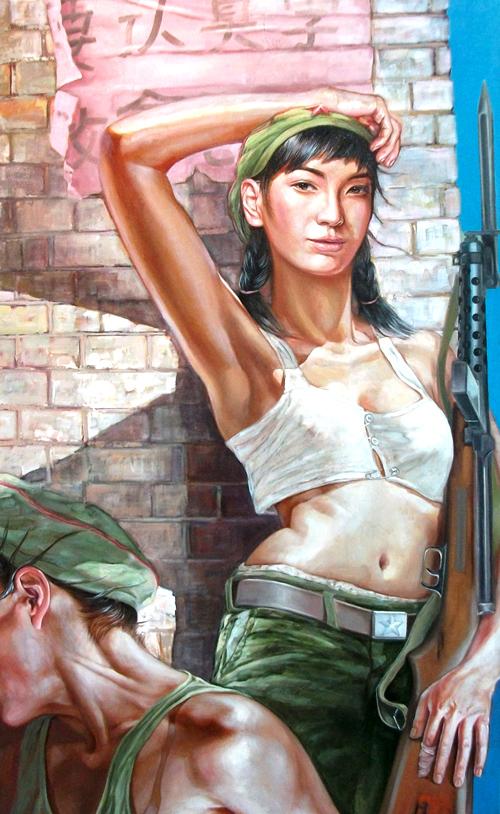 Антуражные амазонки Hu Ming (146 работ)