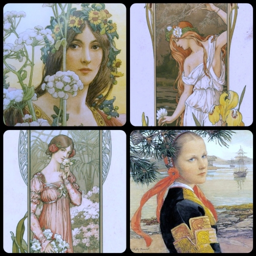 Artworks by Elizabeth Sonrel (1874-1953) (56 работ)