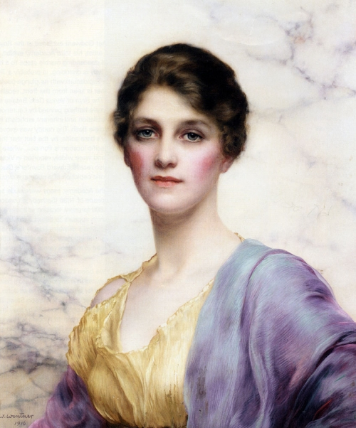 Английский живописец William Clarke Wontner (1857 - 1930) (33 работ)
