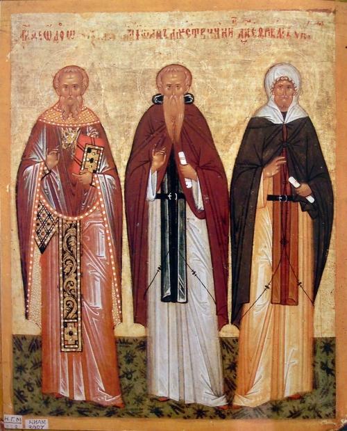 Иконы из собора св.Софии в Новгороде (50 икон)