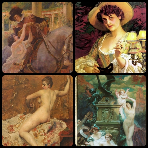 Artworks by Paul-Jean Gervais (1859-1936) (25 работ)