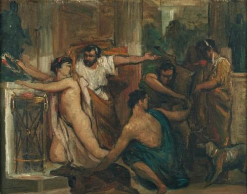 Французский художник Lеon Francois Comerre (1850-1916) (54 работ)