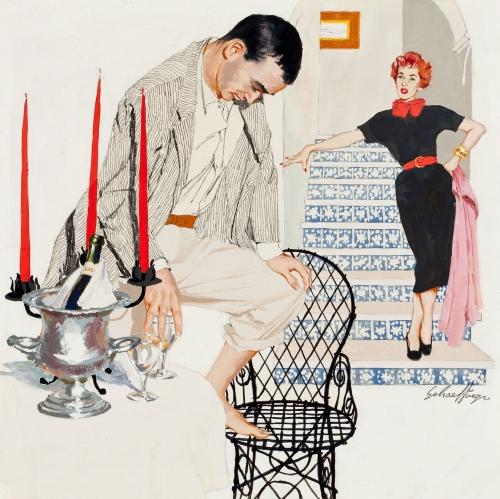 Американский художник и иллюстратор Jim Schaeffing (45 работ)