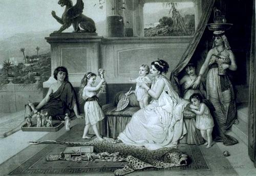 Французский художник Constant Joseph Brochart (1816-1899) (32 работ)