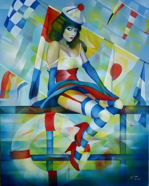 Художница Jeannette Guichard-Bunel (25 работ)