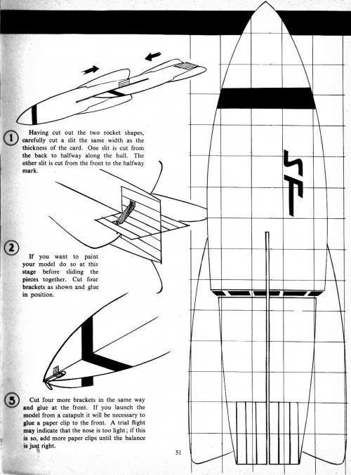 """Ретрофутуризм в """"Космическом ежегоднике Дэна Дэра, 1963 г."""" (Dan Dare's Space Annual 1963) (108 работ)"""