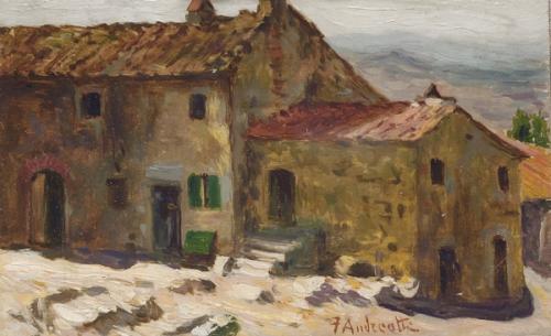 Итальянский живописец Federico Andreotti (1847 - 1930) (98 работ)
