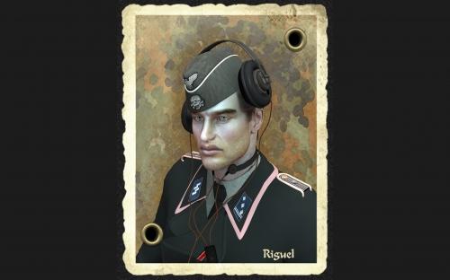 3D военные девушки дизайнера Ригуэл (Riguel) (55 работ)