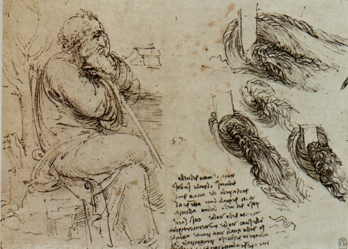 Леонардо да Винчи XV-XVIe Leonardo da Vinci (520 работ) .