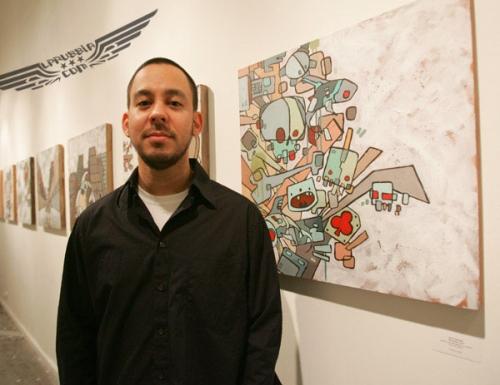 Графические работы Майка Шиноды из Linkin Park (99 работ)