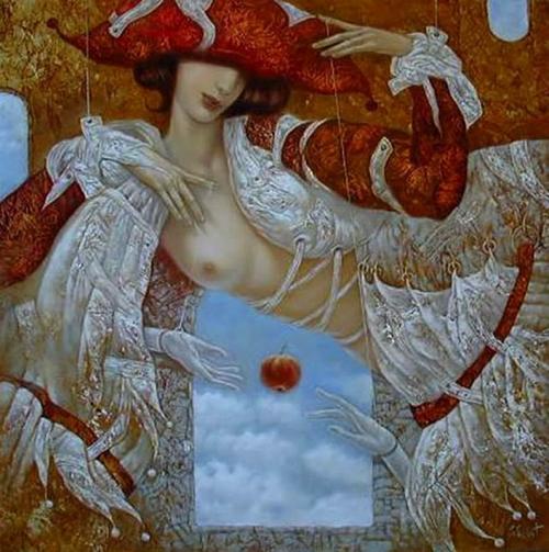 Романтичные девушки от Stas Sugintas (43 работ)