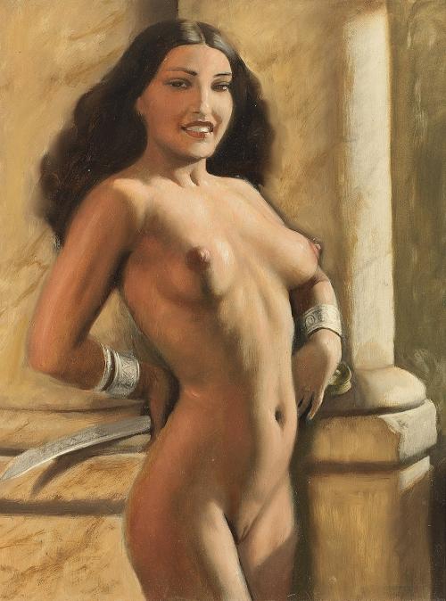 Работы художника Marcel Rene Herrfeldt (French, 1890-1965) (49 работ)