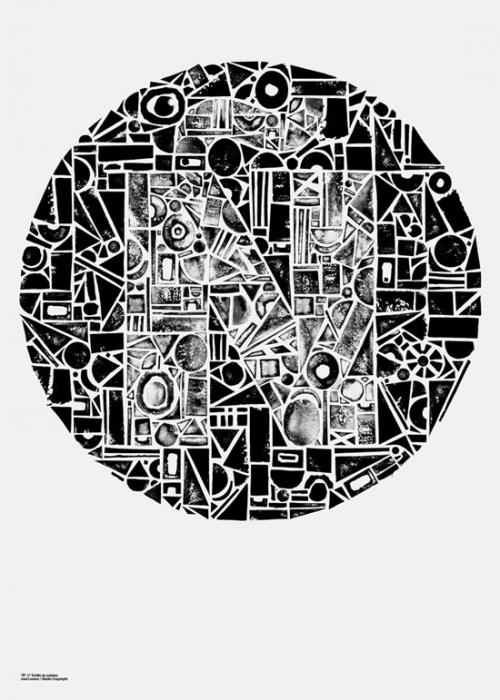 Подборка креативных постеров. Музыкальные и не только (100 постеров)