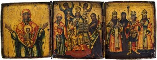 Уральская икона XVIII - нач. XX в (72 икон)