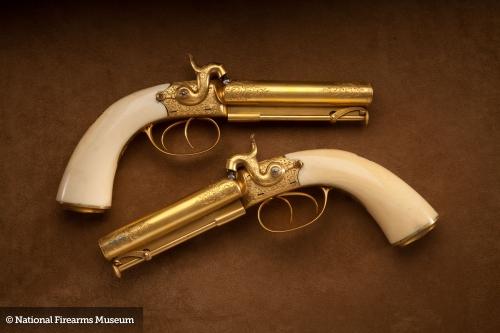 Оружие National Firearms Museum. Часть 9 (50 фото)