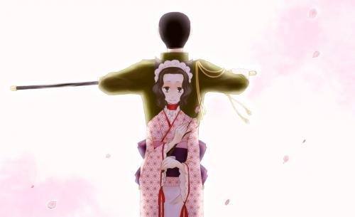 Арт по анимэ Otome Youkai Zakuro (56 работ)