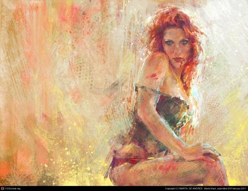 Художница Marta de Andres (Испания) (40 работ)