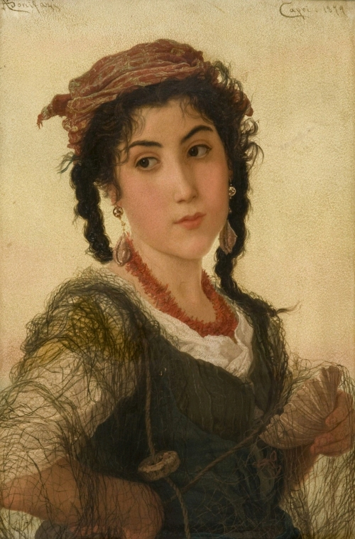 Детские портреты от Adriano Bonifazi (1858 – 1914) (23 работ)