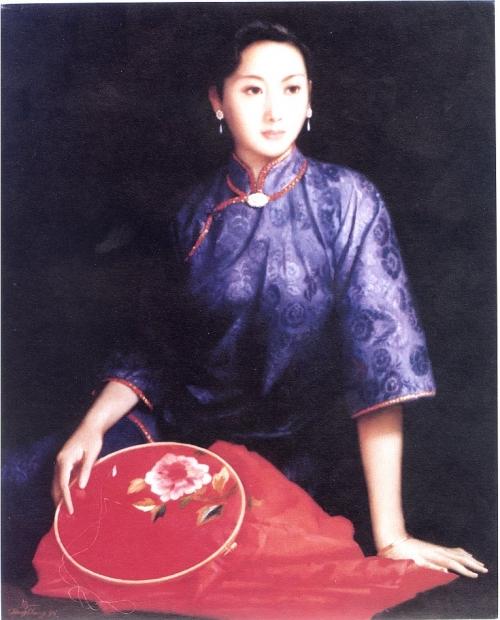 Портреты женщин (Portrait of chinese women) (233 работ)