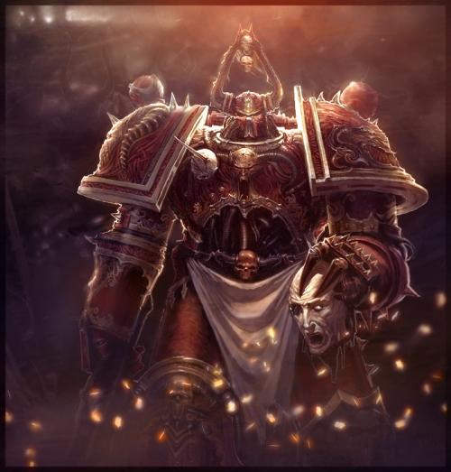 Сборник иллюстраций различных художников для поклонников Warhammer 40000 (1000 работ) (2 часть)