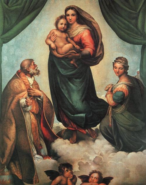 Художник Raffaello Sanzio (194 работ)