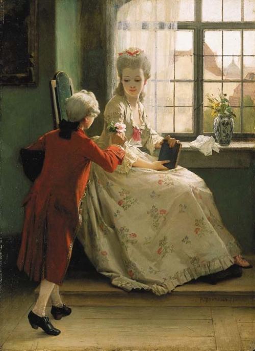 Немецкий живописец Friedrich Paul Thumann (1834-1908) (78 работ)