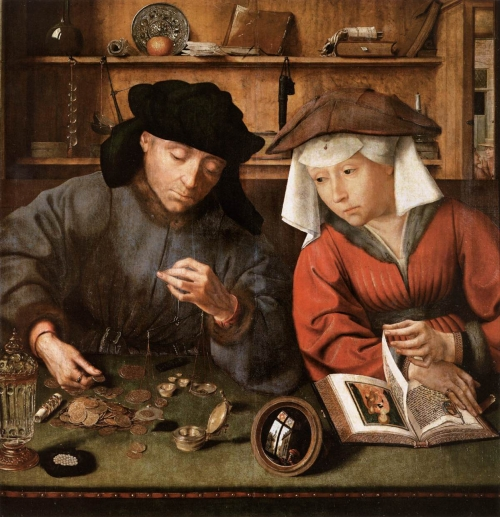 Картины фламандского живописца Квентина Массейс (39 работ)