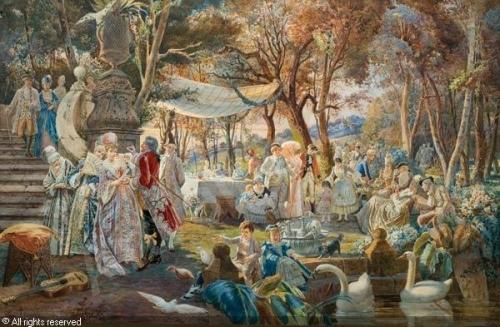 Художник Belisario Gioja (Italian, 1829-1906) Акварель (39 работа)