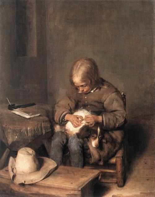 Герард Терборх (1617- 1681) - нидерландский живописец (48 работ)