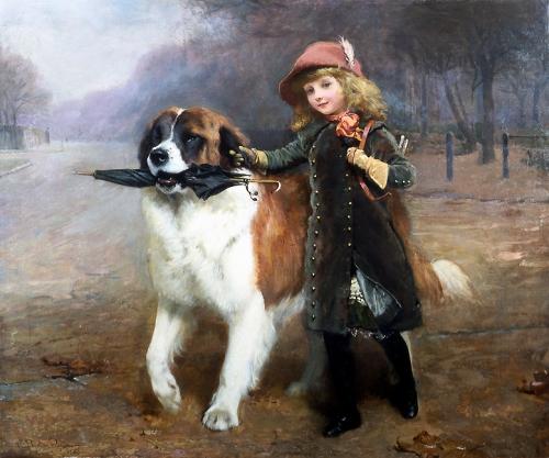 Английский живописец Charles Burton Barber (1845-1894) (46 фото)