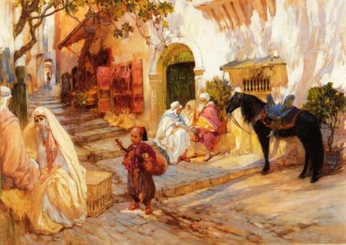 Художник Bridgeman Frederick Arthur  (40 работ)