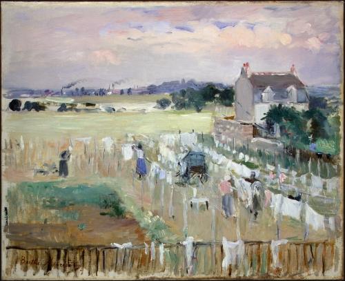 Моризо Берта | XIXe | Morisot Berthe (300 работ)