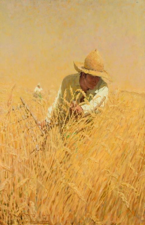 Художник-иллюстратор Harvey Thomas Dunn (84 работ)