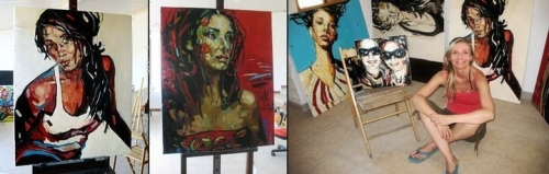 New Artworks by Anna Bocek (121 работ)