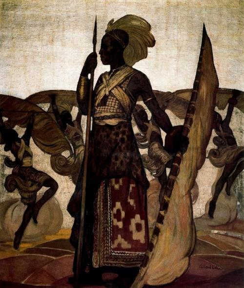 Африка в живописи | Africa in painting (214 работ)