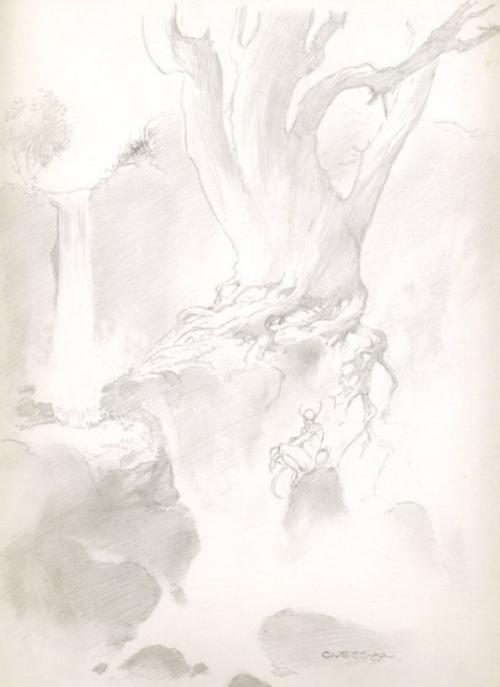 Художник и иллюстратор Charles Vess (216 работ)