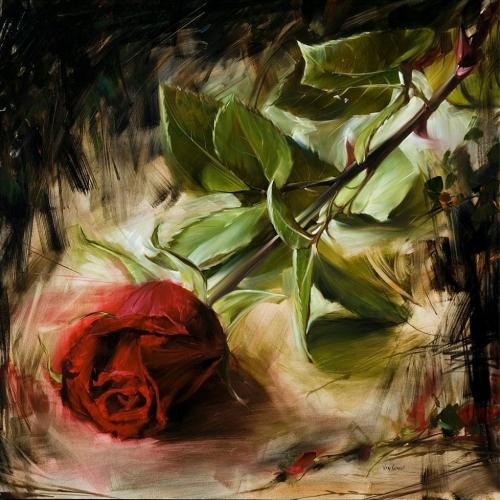 Страстная живопись Paul van Ginkel (28 работ)