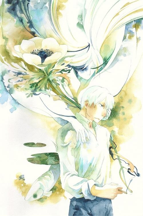 Акварель shirou-kamui (40 работ)