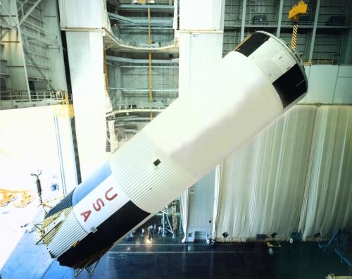Сатурн-5. Ракета-носитель в фотографиях (США) (20 фото)