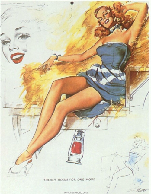 Pin-Up Collection by Freeman Elliott (79 работ)