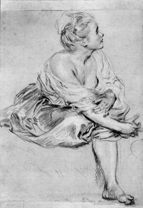 Картины французского художника Жана Антуана Ватто (59 работ)